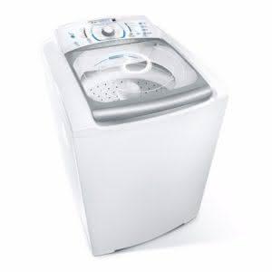 Máquina de lavar roupas Electrolux 15 kg Blue Touch Ultra Clean LBU15 Branco