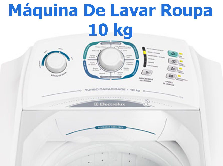 Máquina De Lavar Roupa 10 kg