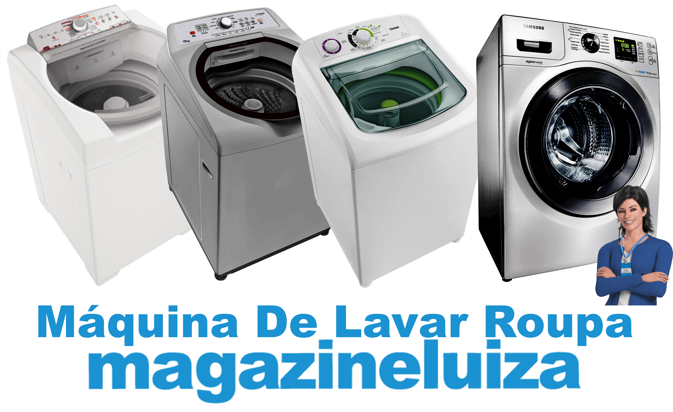 011548e8c Máquina De Lavar Roupa Ricardo Eletro  Brastemp - de 8kg a 15kg