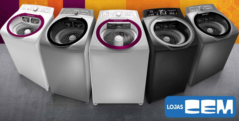4a0646bae Loja Cem Máquina De Lavar Roupa  Consul Facilite - Electrolux