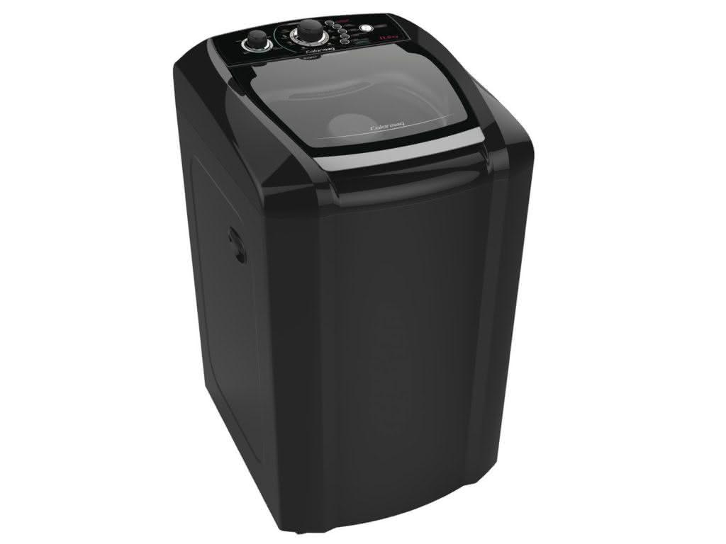 maquina de lavar colormaq 11kg preta